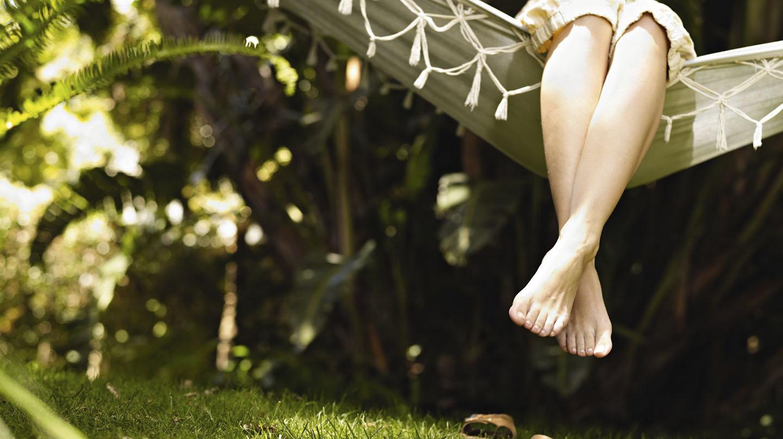 Die drei Säulen des Wohlbefindens: Ernährung, Bewegung, Entspannung.